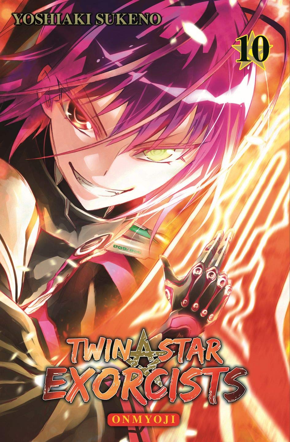 Twin Star Exorcists: Onmyoji: Bd. 10 Taschenbuch – 24. September 2018 Yoshiaki Sukeno Hiro Yamada Panini 3741608882