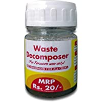 Nature Friend Organic Waste Decomposer for Agricultural Purpose (Pack of Multi Bottles, 30ml per Bottle)