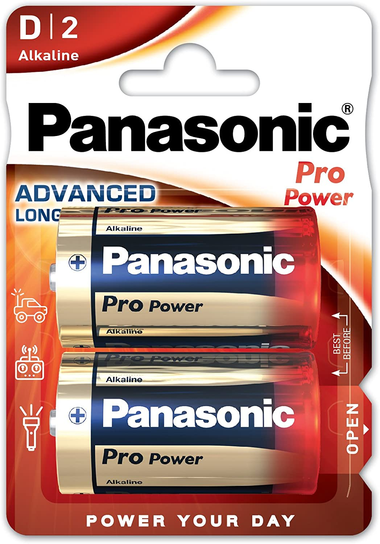 Panasonic PLLR202B - Pila Lr-20 Panasonic(Blister 2 Uds)