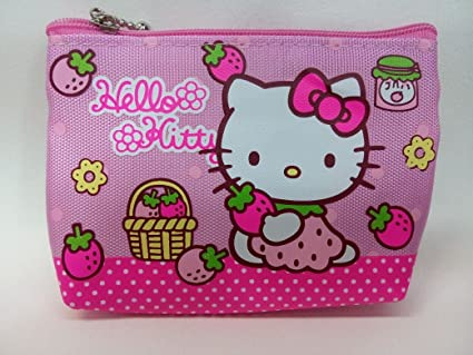 4fe5176a1 Amazon.com: CJB Sanrio Japan Hello Kitty Mini Coin Pocket Pink ...