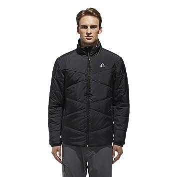 94ebce6e1e201 adidas Men Jacket Basic Insulation Running Zipper Casual Sport ...