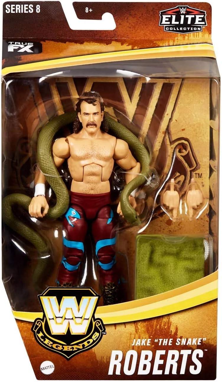 NEW JAKE THE SNAKE ROBERTS MATTEL WWE LEGENDS ELITE SERIES #8