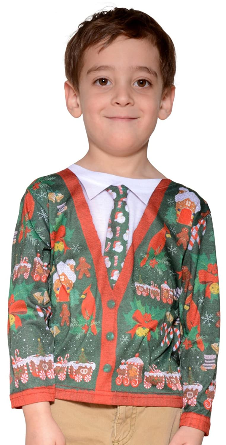 Amazon.com: Toddler Ugly Christmas Cardigan: Toys & Games