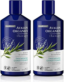product image for Avalon Organics Biotin B-Complex Thickening Conditioner, 14 Ounce (Pack of 2)