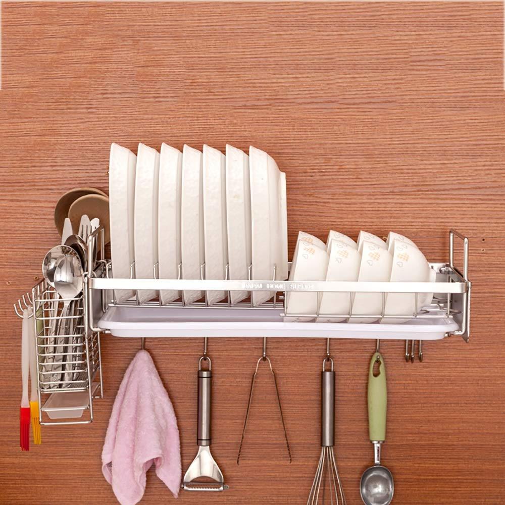 ベスト キッチン棚/ステンレススチール/キッチンペンダント/食器棚/排水棚/壁掛け/壁掛け/単層 (色 : C) B07RWNKCSZ C
