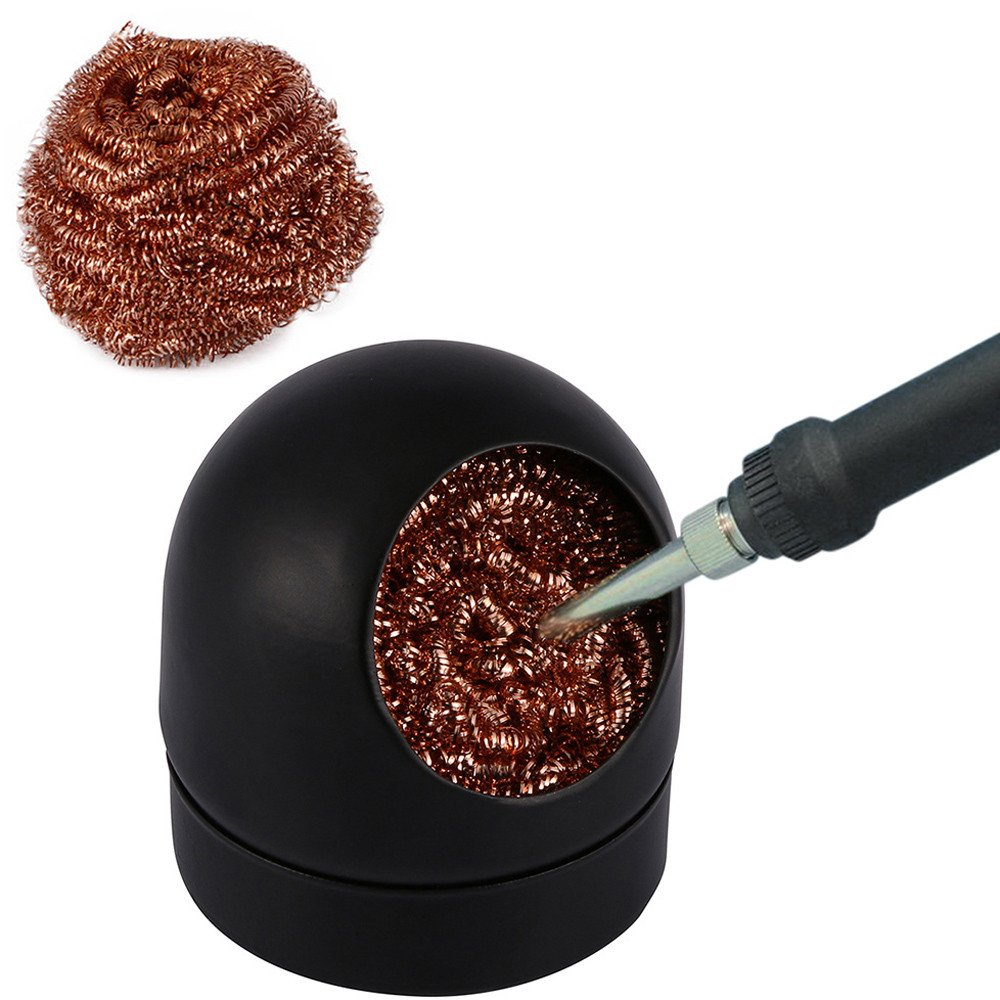 Clothful  Soldering Solder Iron Tip Cleaner Steel Cleaning Wire Ball Heavy Duty Welding