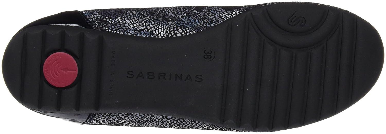 Sabrinas Mehrfarbig Damen Florencia Geschlossene Ballerinas Mehrfarbig Sabrinas (Plomo / Marino) 8726df