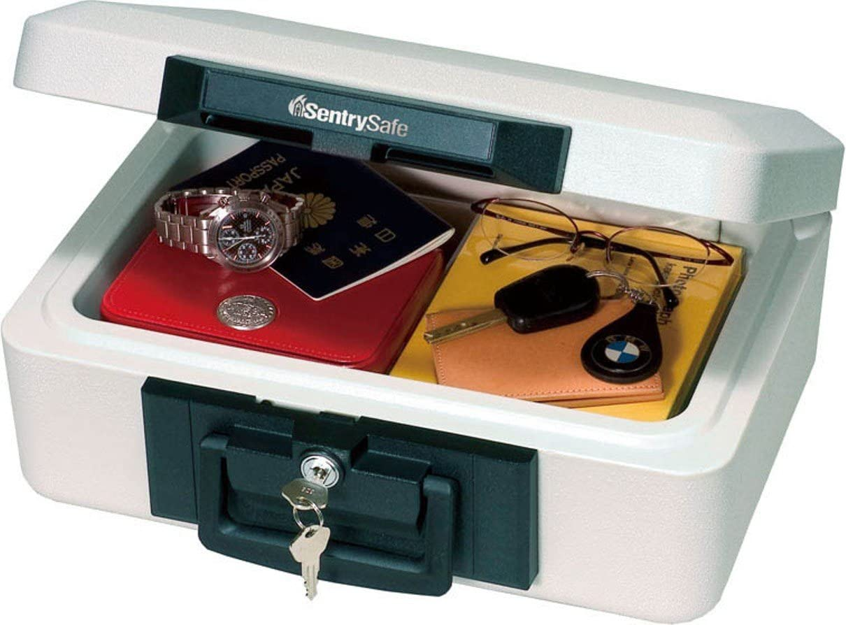 Brand New SentrySafe 1200 Fireproof Box with with Key Lock 0.18 Cubic Feet Safe