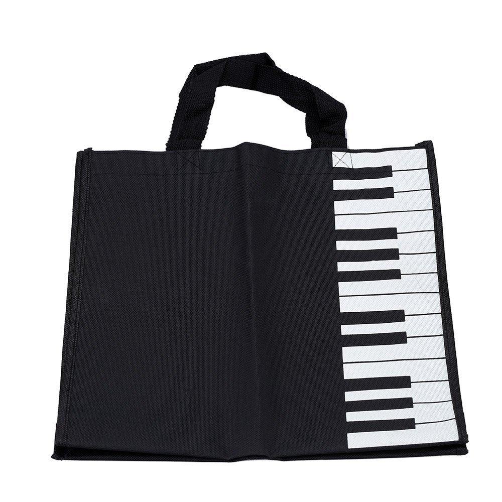 Sac de shopping - SODIAL(R) Sac de Cles de piano fourre-tout Sac de shopping cadeau 057648