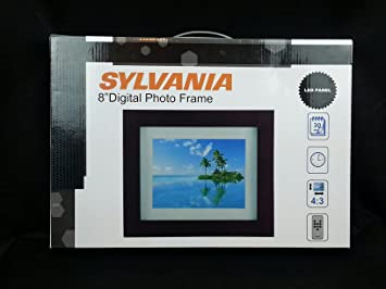 Amazoncom Sylvania 8 Premium Digital Photo Frame Camera Photo