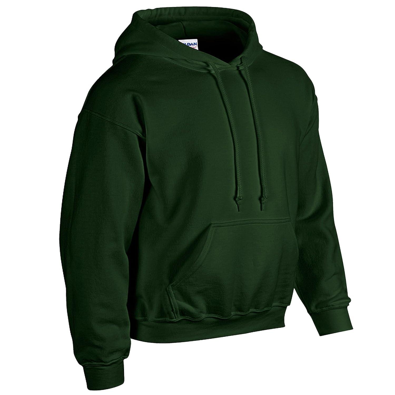 GILDAN Heavy Blend™ Adult Hooded Sweatshirt Hoodie Top Hoody Sizes