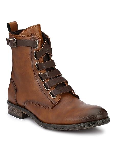 Buy Delize Black/Tan Chelsea high Ankle