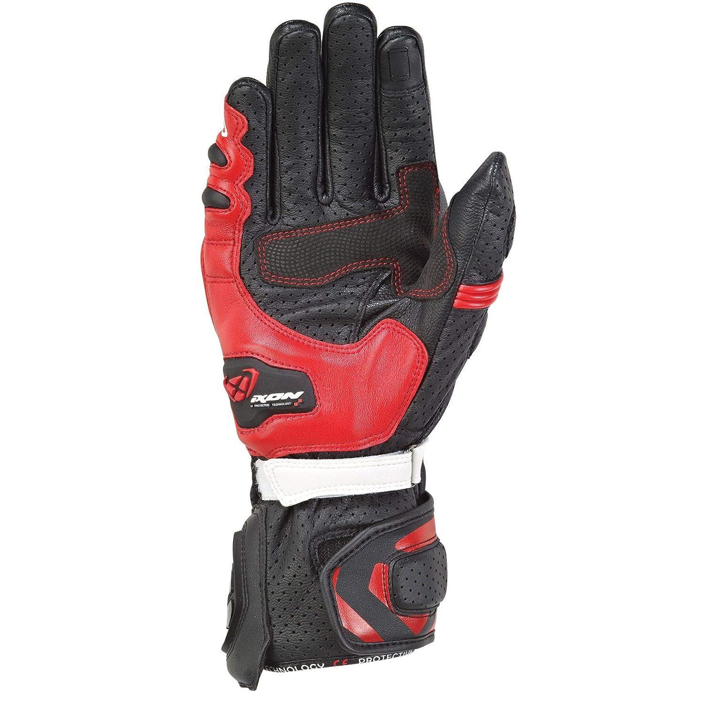 Ixon paio di guanti RS tempo Air Nero Rosso Taglia XXL