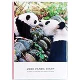 グリーティングライフ パンダ 手帳 2020年 1月始まり ウィークリー B6 CD-860-PA
