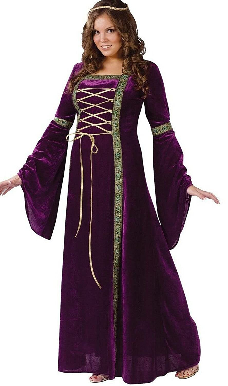 ba4fc2c1f8a Top6  Fun World Costumes Plus-Size Funworld Deluxe Renaissance Lady