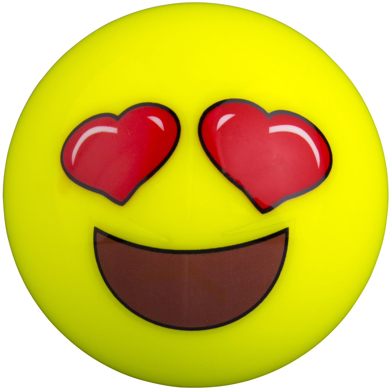 GRAYS Herz Augen Emoji-Hockey Ball–One Size 646302