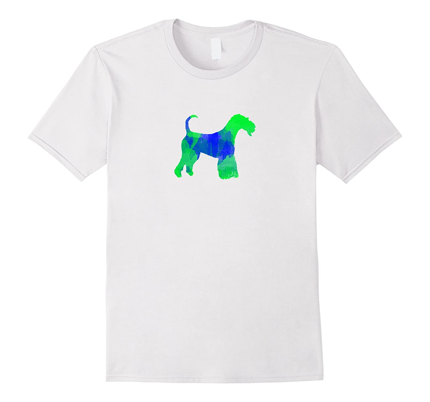 50892432 Airedale Terrier Watercolor Dog T-Shirt-RT – Rateeshirt