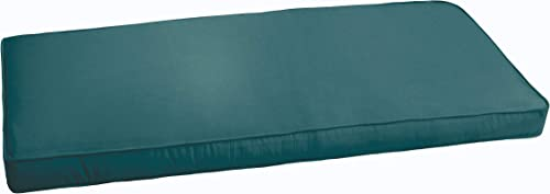 Humble and Haute Sloane Teal 60-inch Indoor/Outdoor Corded Bench Cushion