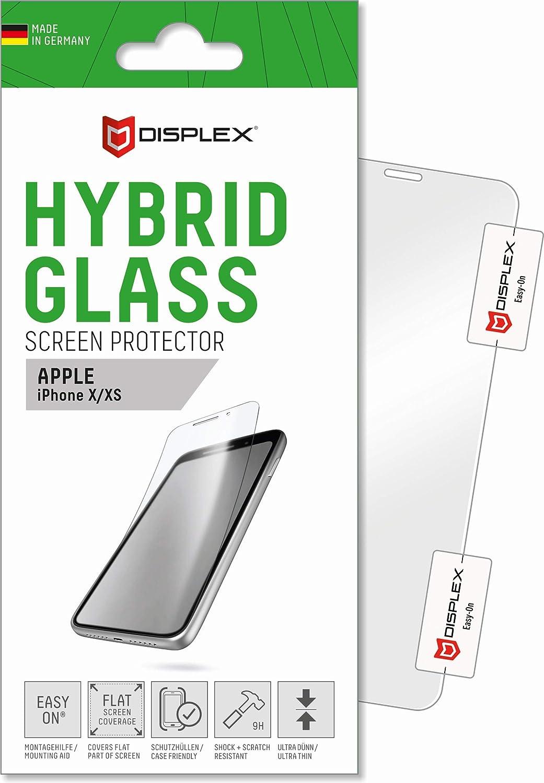 Displex Displayschutz Aus Hybrid Glass Für Das Iphone X Xs Elektronik