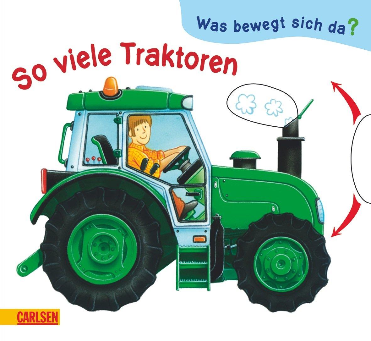 Was bewegt sich da?: So viele Traktoren