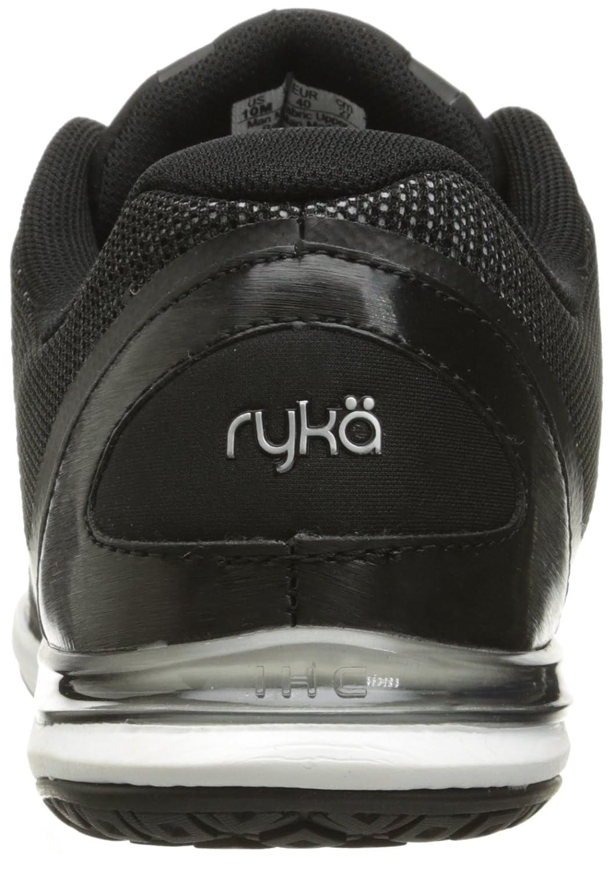 Ryka Women's Grafik Cross-Trainer Shoe B01A627AJU 10.5 B(M) US|Black/Grey