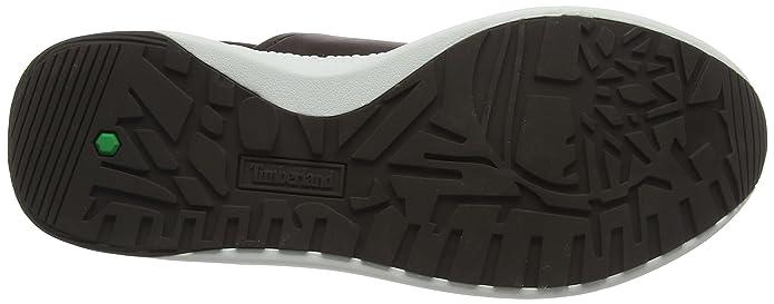 Timberland Kiri Up Knit, Zapatos de Cordones Oxford para Mujer, Gris (Mulch/Taupe Grey A66), 39.5 EU