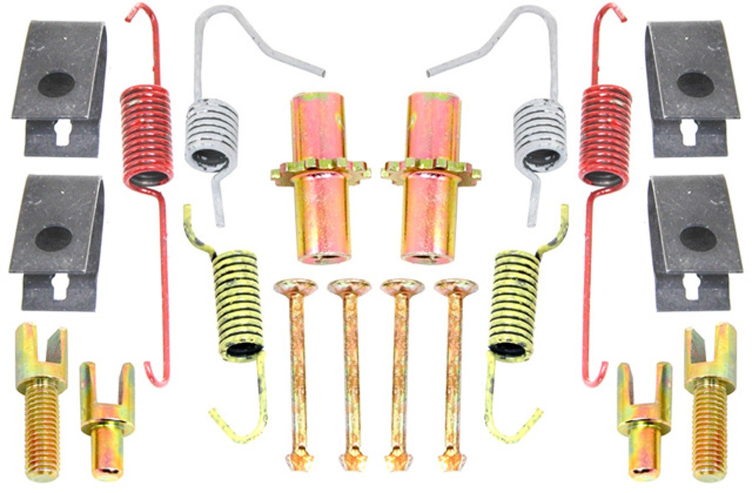 ACDelco 18K1153 Professional Rear Parking Brake Hardware Kit with Springs, Adjusters, Pins, and Retainers