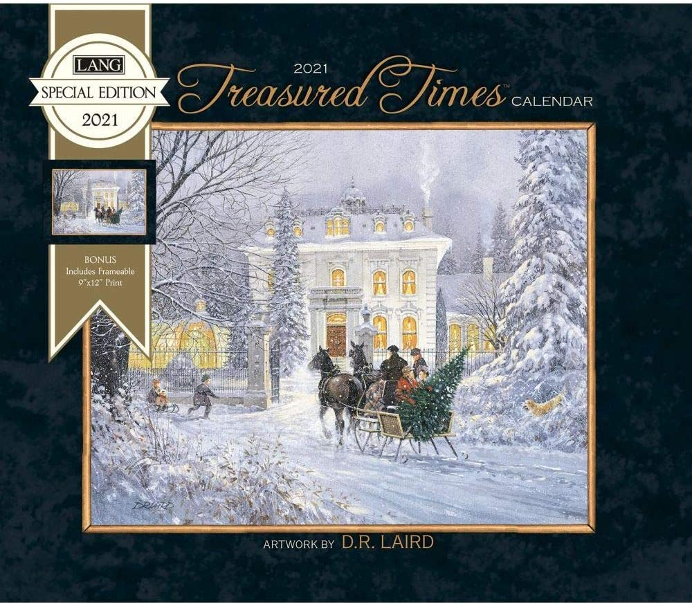 The Lang Companies 2021 Treasured Times Special Edition Wall Calendar