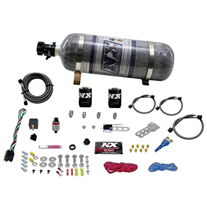 Amazon.com: Nitrous Express 20929-12 35-150 HP InstaBOOST EFI Nitrous System with 12 lbs. Composite Bottle: Automotive