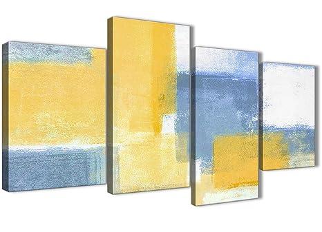 Wallfillers set di grandi stampe da parete su tela quadro astratto