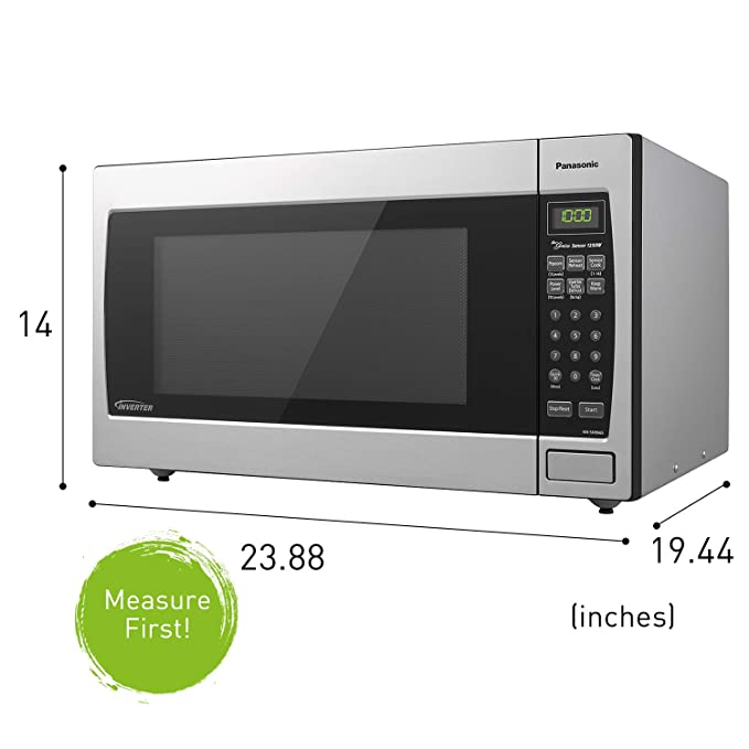 Amazon.com: Microondas con tecnología invertida ...