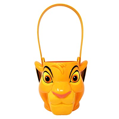 Disney Lion King Simba! – Character Bucket – Children's Candy and Storage Bucket: Toys & Games