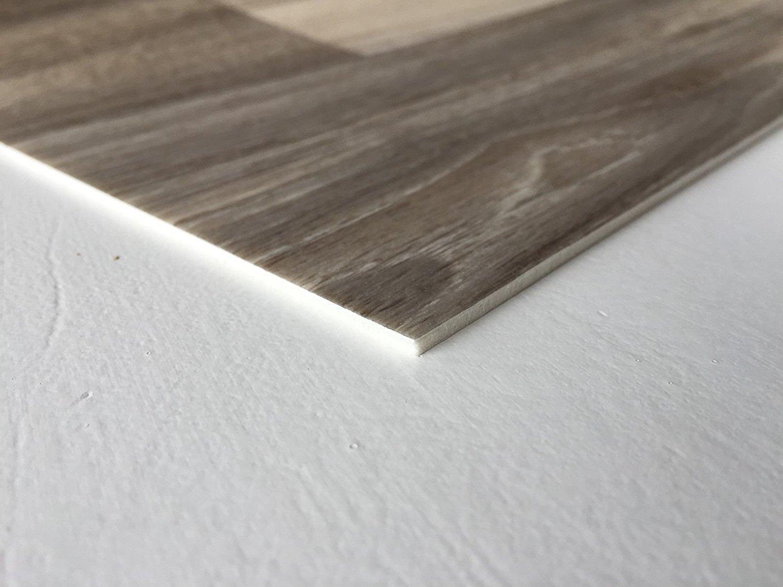 Fußbodenbelag Grau ~ Pvc bodenbelag holzoptik muster in grau braun vinyl