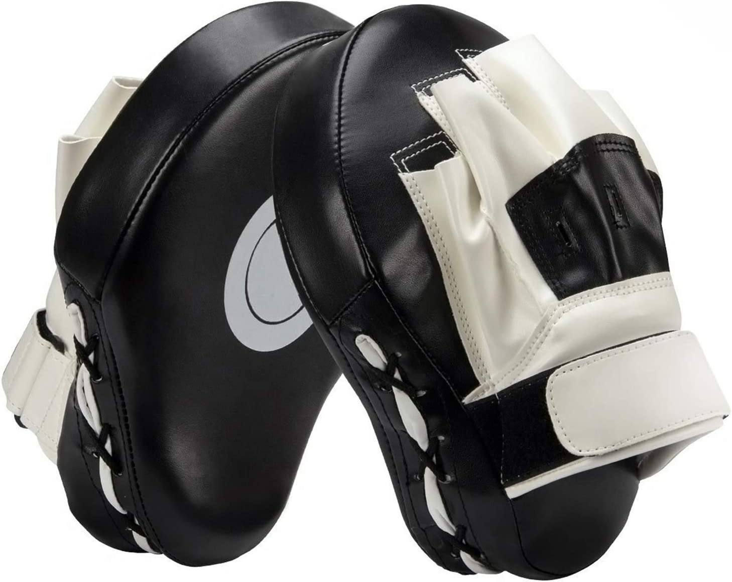 2020 Curved Boxing Focus Pad Set Hook and Jab Punch Training Sparring Bag Gloves