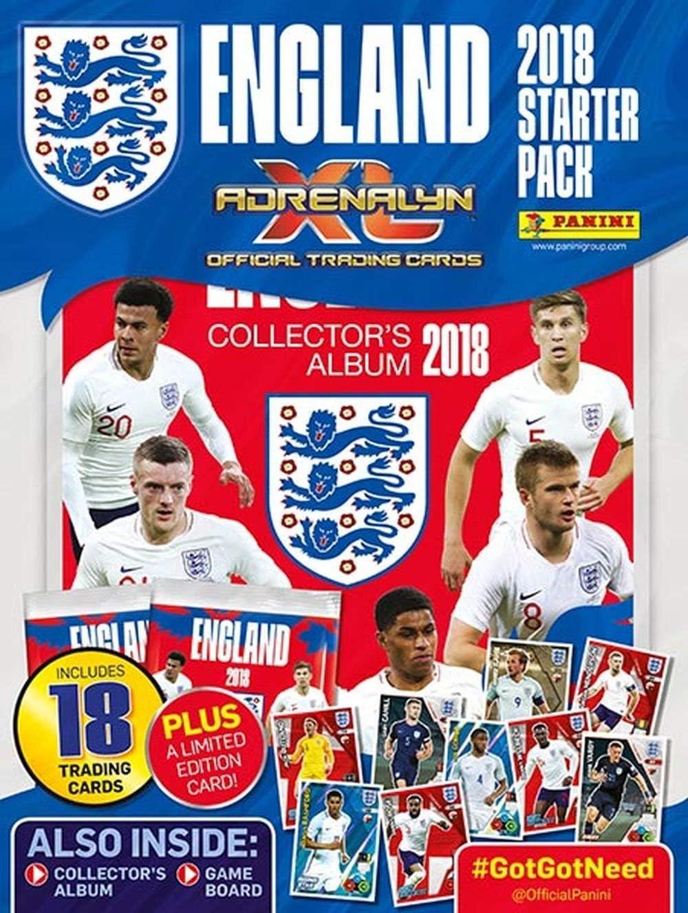 Panini Adrenalyn XL England 2018 Trading Card Starter Pack: Amazon.es: Juguetes y juegos