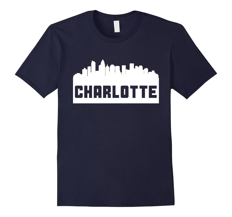 North Carolina Home State T shirt Charlotte North Carolina-Vaci