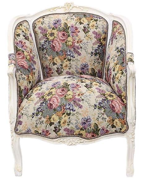 Casa Padrino sillón Lounge Baroque con Estampado Floral ...
