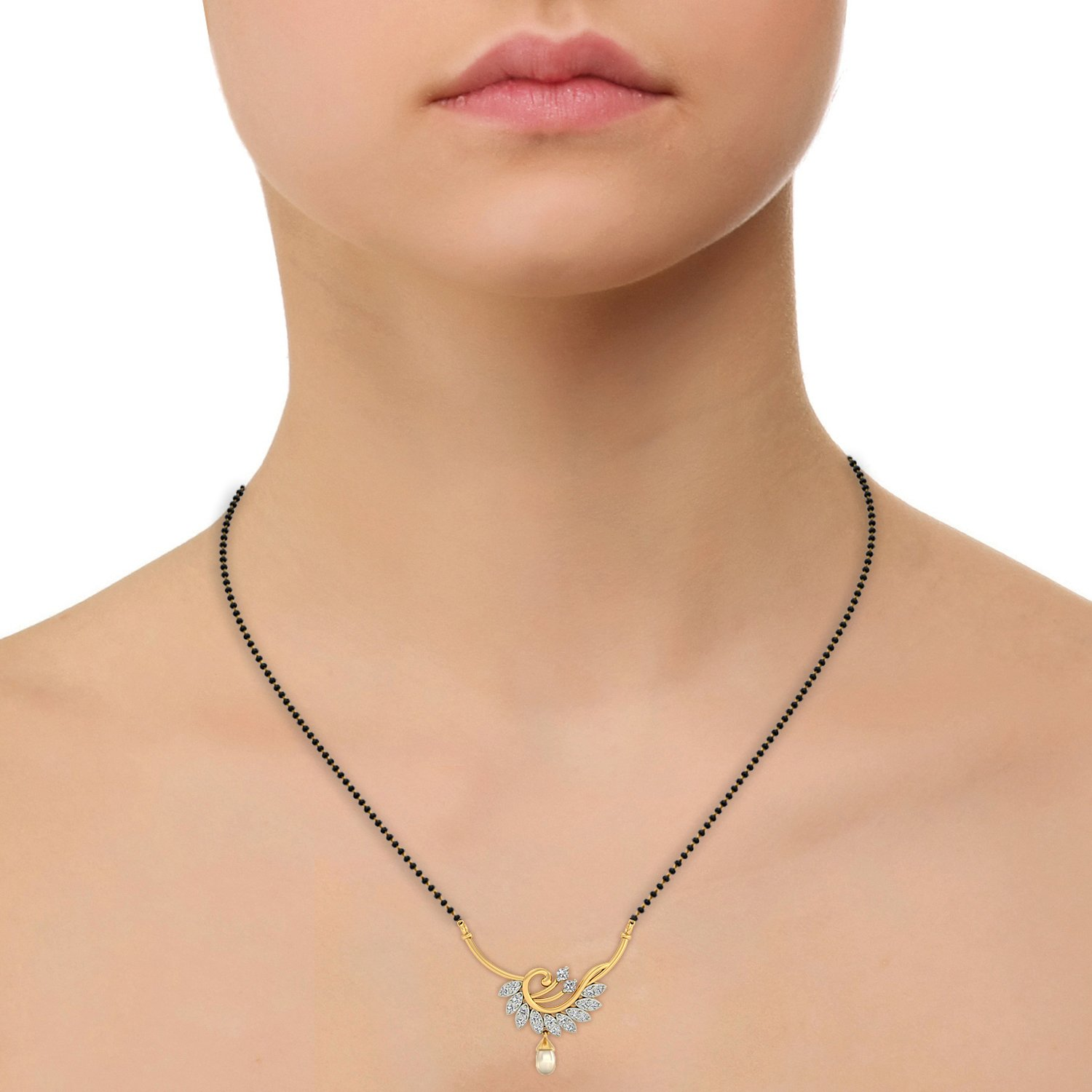 jewelry little lyst metallic in gallery boy gold necklace yellow pendant kc product diamond designs