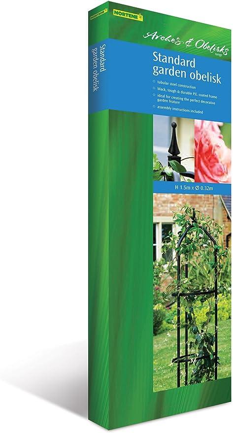 Nortene Obelisco de jardín Botanico estándar: Amazon.es: Jardín