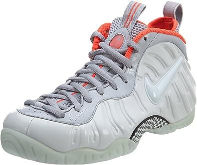 Nike Air Foamposite Pro PRM, Zapatillas de Baloncesto para Hombre, Plateado/Gris (Pr Pltnm/Pr Pltnm-WLF Gry-Brgh-), 47 EU: Amazon.es: Zapatos y complementos