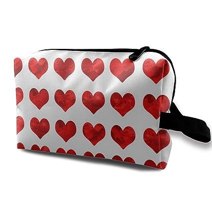 Tela de corazones de acuarela - Tela de San Valentín, Tela ...