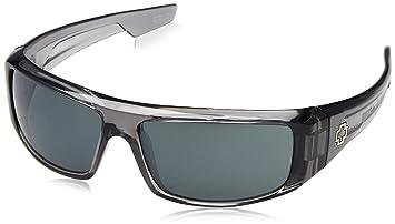 Spy Gafas de sol Logan, Happy Gray Green/Silver Mirror, 670939204352