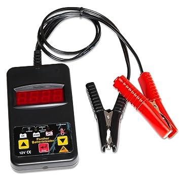 digitales KFZ Batteriepr/üfger/ät Batterietester 12 Volt