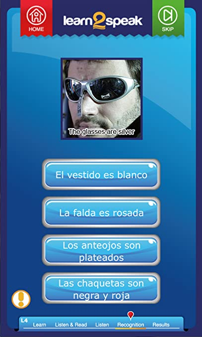 Amazon.com: Learn 2 Speak Spanish Unit 4: Appstore for Android