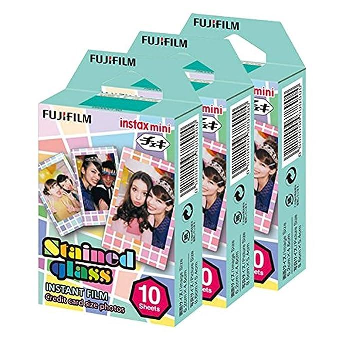 Fujifilm Instax Mini - Papel Cristal 30 película para Fuji 7s 8 25 ...