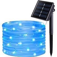 JMEXSUSS 8 Modes Solar Rope Lights Outdoor Indoor Waterproof String Lights 39.4 Feet 120LED for Garden Fence Patio Yard…