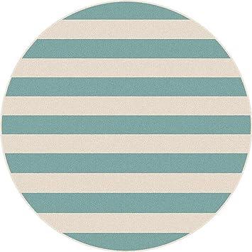 Kaxima Microfibra, toalla de poliéster, redondo, toalla de playa, rayas, toalla de playa, impresión digital, toalla de baño, 150x150cm: Amazon.es: Hogar