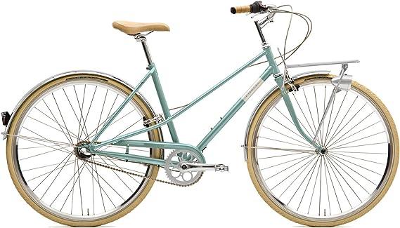 CREME BI-CRE-4207_55_Turquoise - Bicicleta de Paseo para Mujer ...