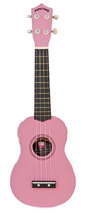 Coloured Ukulele - Pink - Guitarra para niños (MFK PTN100917 ...