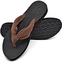 KuaiLu Chanclas Mujer Piscina Verano Playa Comodas Tela Antideslizante Sandalias Zapatos Estera de Yoga